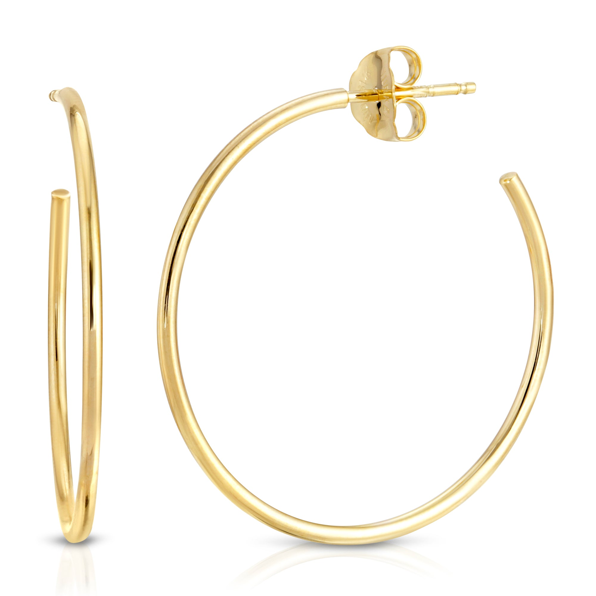 ULTRA THIN MEDIUM HOOPS