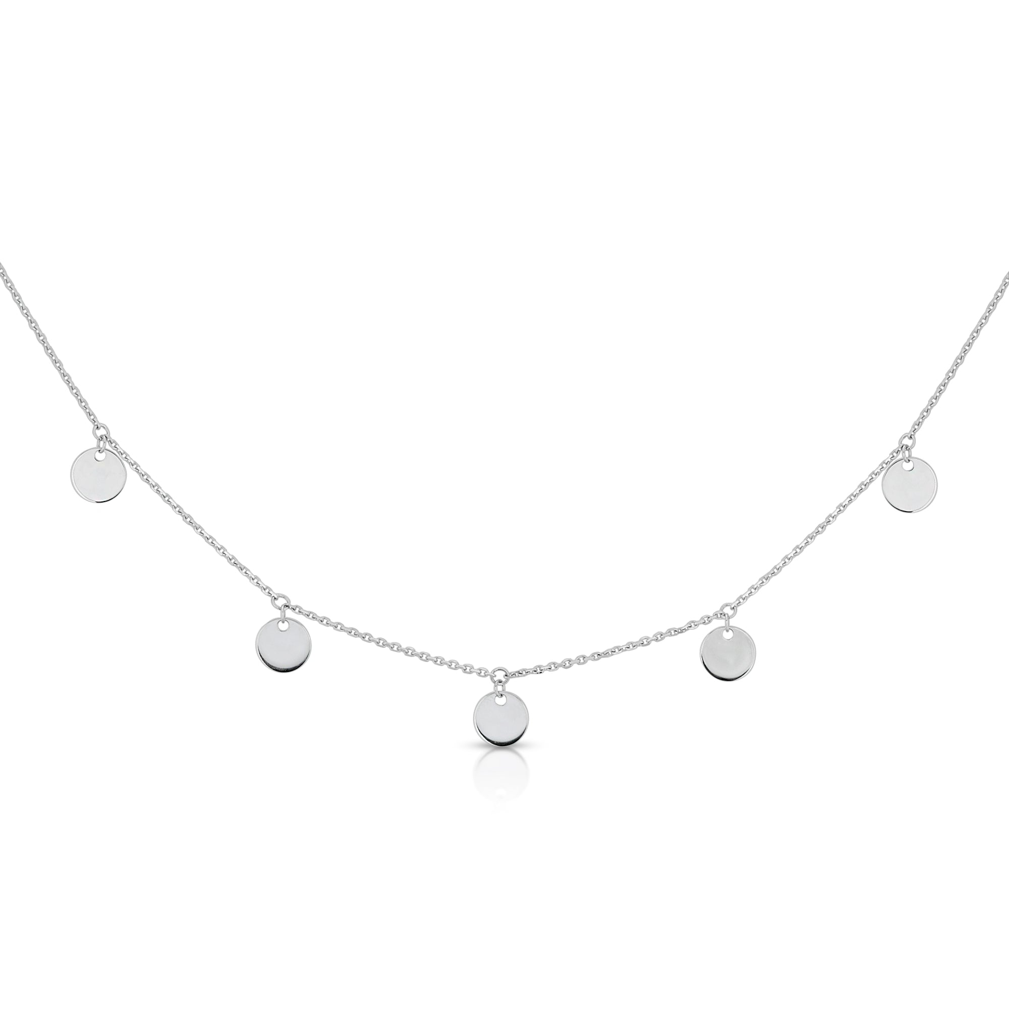 DANGLE DISCS CHOKER