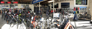 CycleTime Bike Shop Hamilton - Panoramic Inside