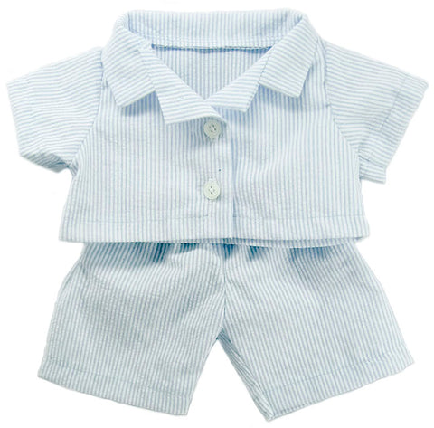 PYJAMA 14 INCHI BLUE W/ PANTS
