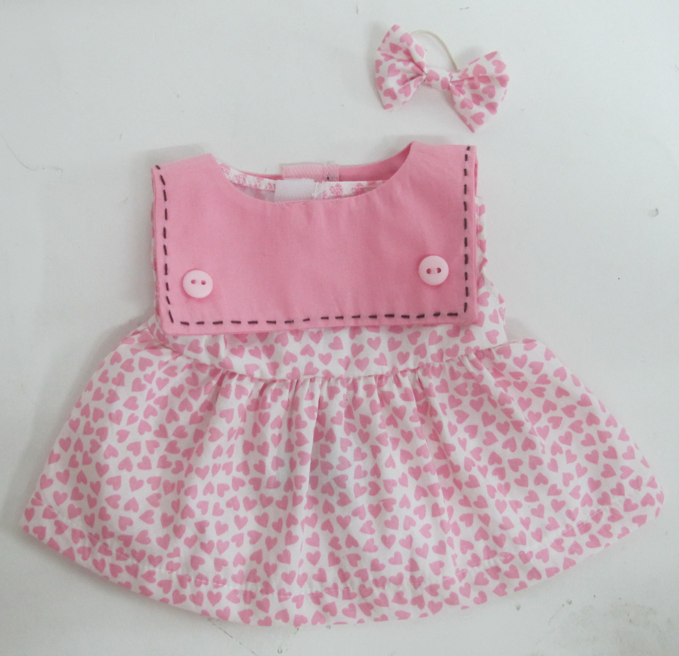 DRESS ADDITIONAL PINK 22 INCHI