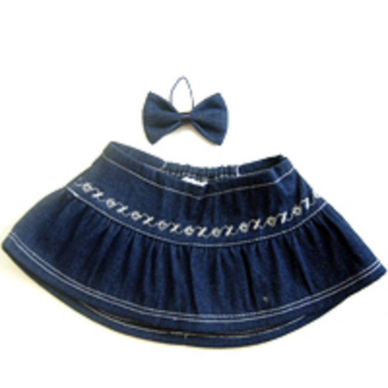 SKIRT 12 INCHI BLUE JEANS