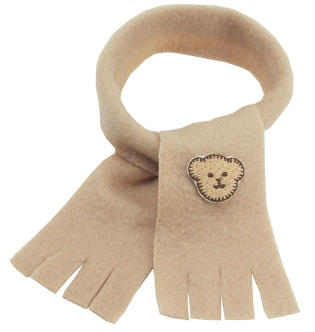 SCARF LIGHT BROWN