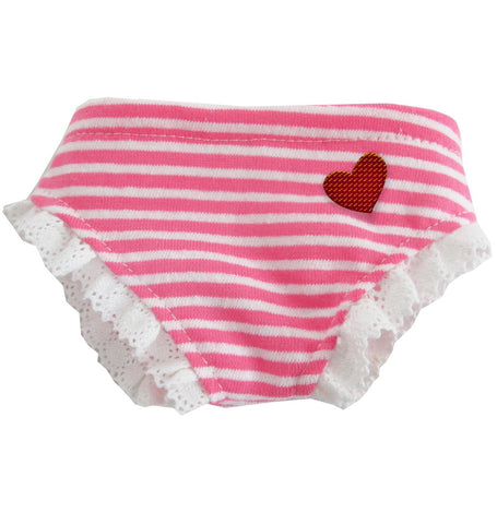 PANTIE INTO LOVE PINK STRIPE