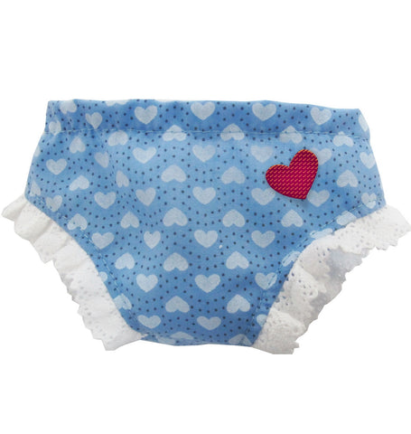 PANTIE INTO LOVE BLUE HEART