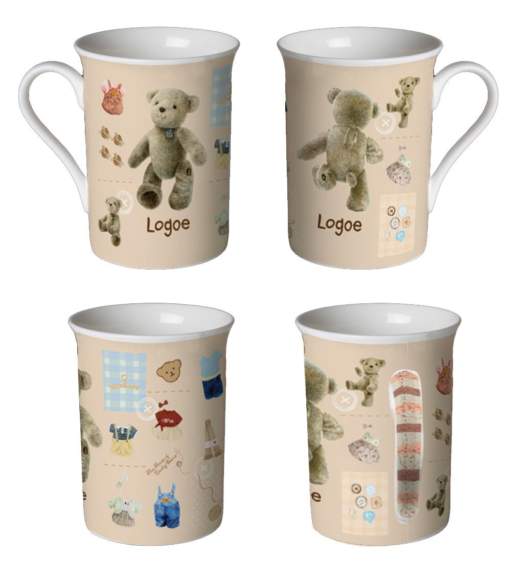 MUG TEDDY HOUSE