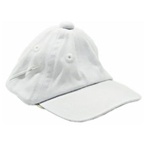 HAT 12`` CAP WHITE