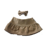 "SKIRT 12"" BROWN"
