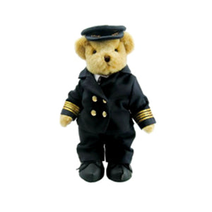 TEDDY HOUSE BONEKA TEDDY BEAR SPC: KEN - CAPTAIN 12 INCHI