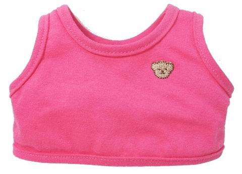 "T-SHIRT WITHOUT SLEEVE 31"" PINK"