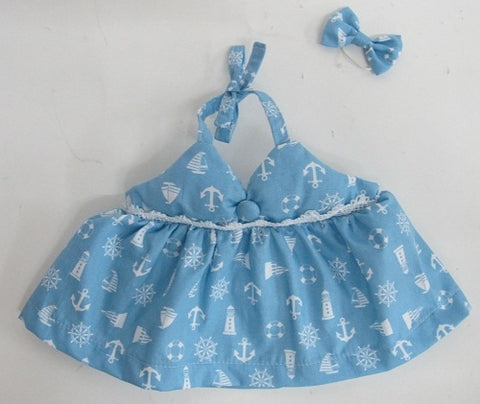 DRESS ADDITIONAL BLUE 18""