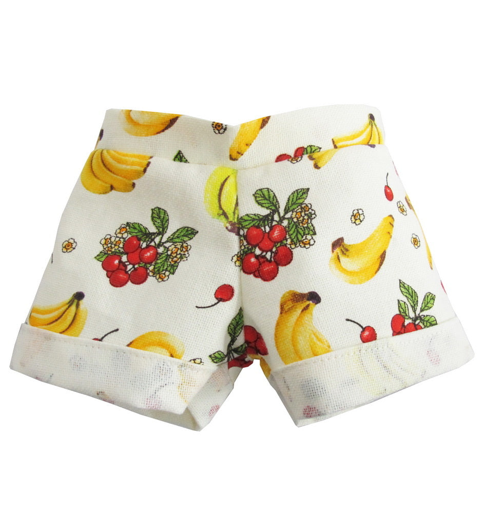 HAWAII PANTS BANANA PRINT 12""