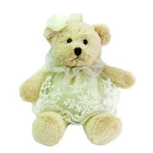 KEYCHAIN LACE SOFT BEAR 6 INCHI