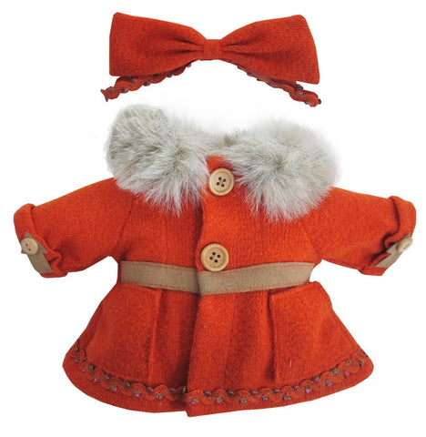 "DRESS FUR COLLAR 10"" WINTER X`MAS"