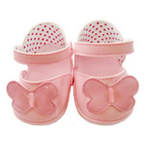 "SHOES 12"" PINK BUTTERFLY"