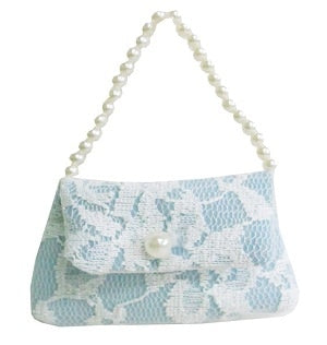 LACE BAG BLUE LOVELY