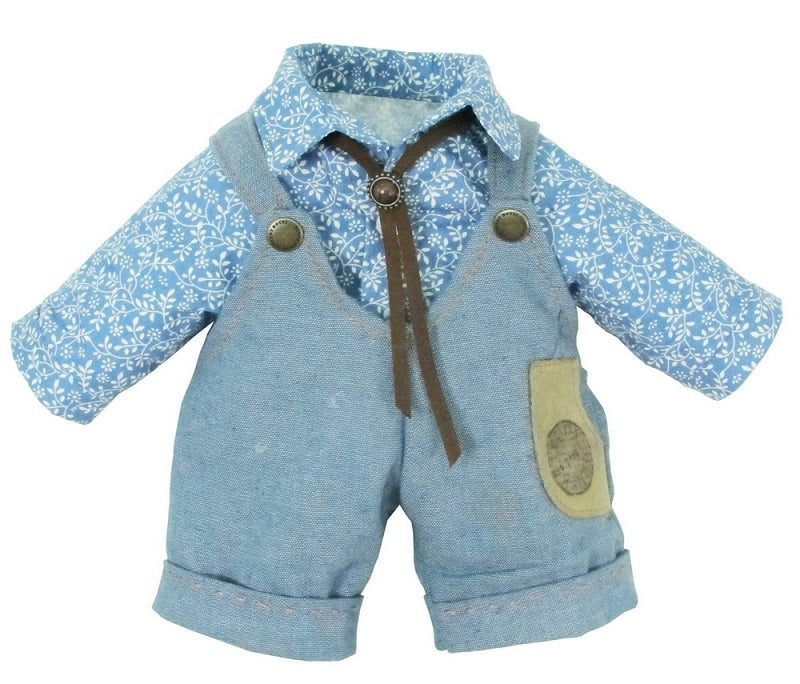"DUNGAREES W/ SHIRT 22 "" TEDDY IN COUNTRY"