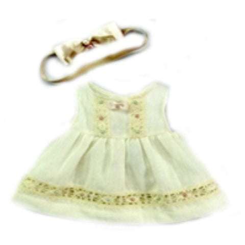 DRESS 14`` ROMANTIC W/ RIBBON