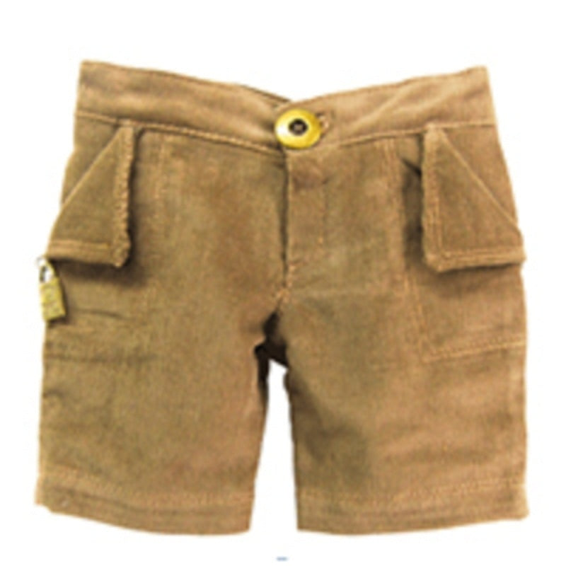 "PANTS 12"" BROWN W/ LOGO"