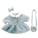 "DRESS W/ BAG 22"" BLUE"