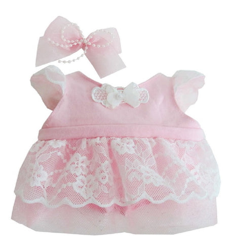 "SWEETY LACE DRESS PINK 22"" LOVELY"
