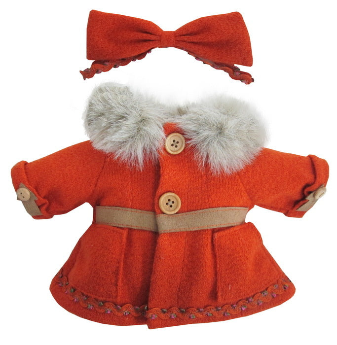 "DRESS FUR COLLAR 12"" WINTER X`MAS"