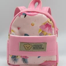BACKPACK HAPPY VACAY (PINK COLOR)