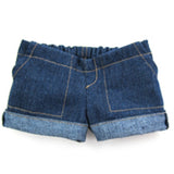 PANTS  22`` SHORT BLUE