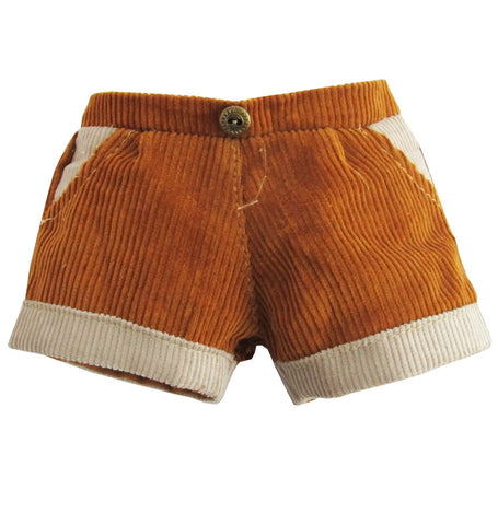 TWO TONE PANTS BROWN SUNSHINE 12""