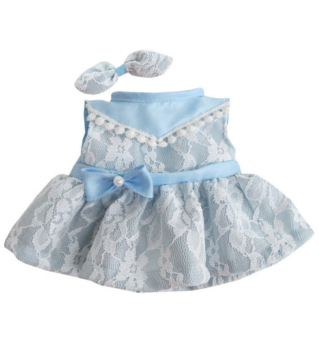 "SWEETY LACE DRESS BLUE 14"" LOVELY"