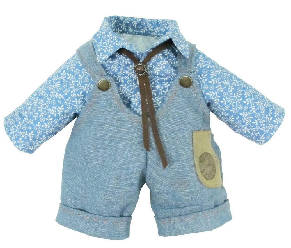 "DUNGAREES W/ SHIRT 48 "" TEDDY IN COUNTRY"