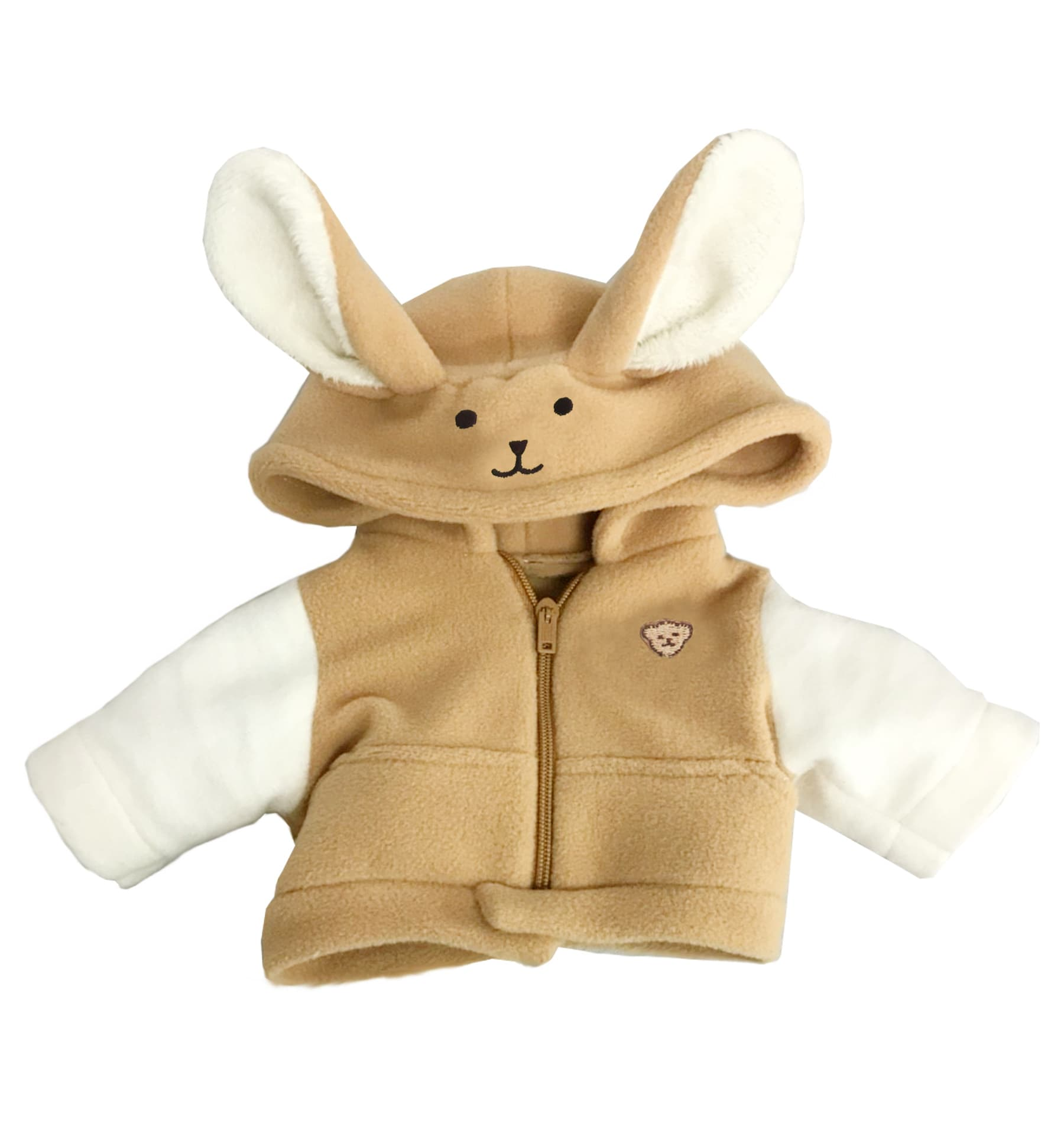 SHIRT WITH BUNNY HOOD 10 INCHI