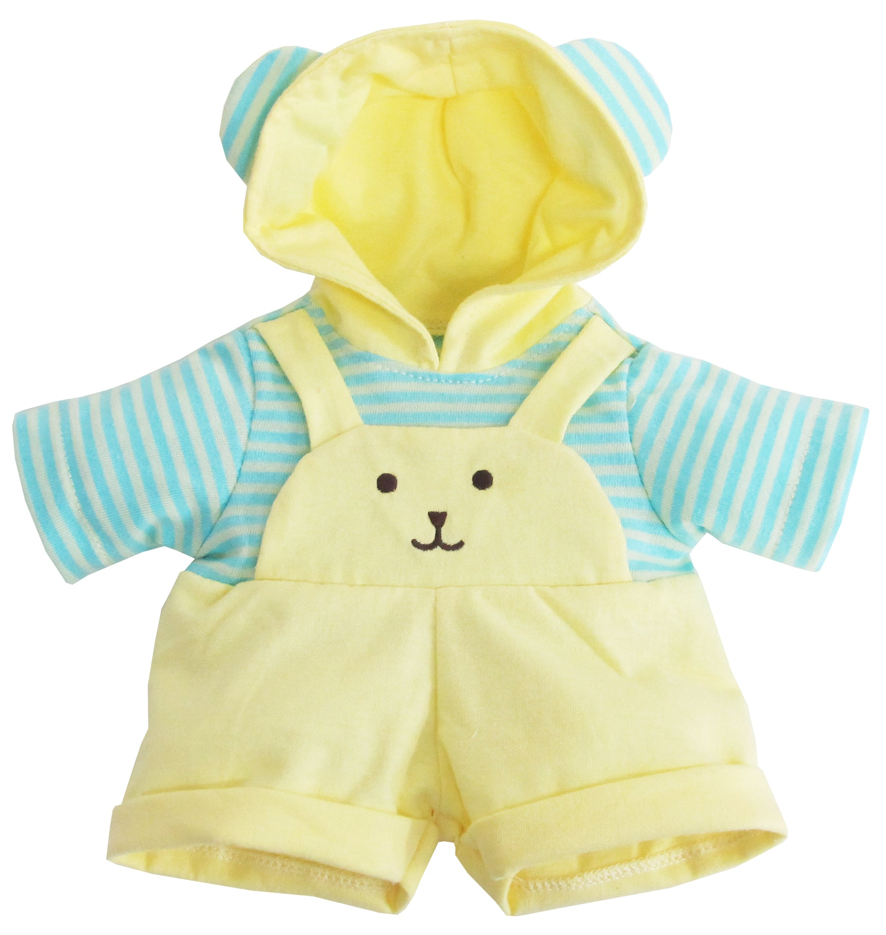 DUNGAREES WITH HOOD 14""