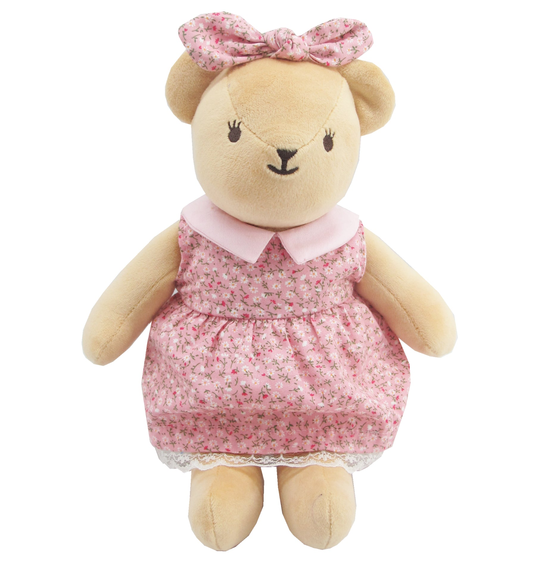 BEAR WITH OUTFITS GIRL 09 INCHI M COLLECTION
