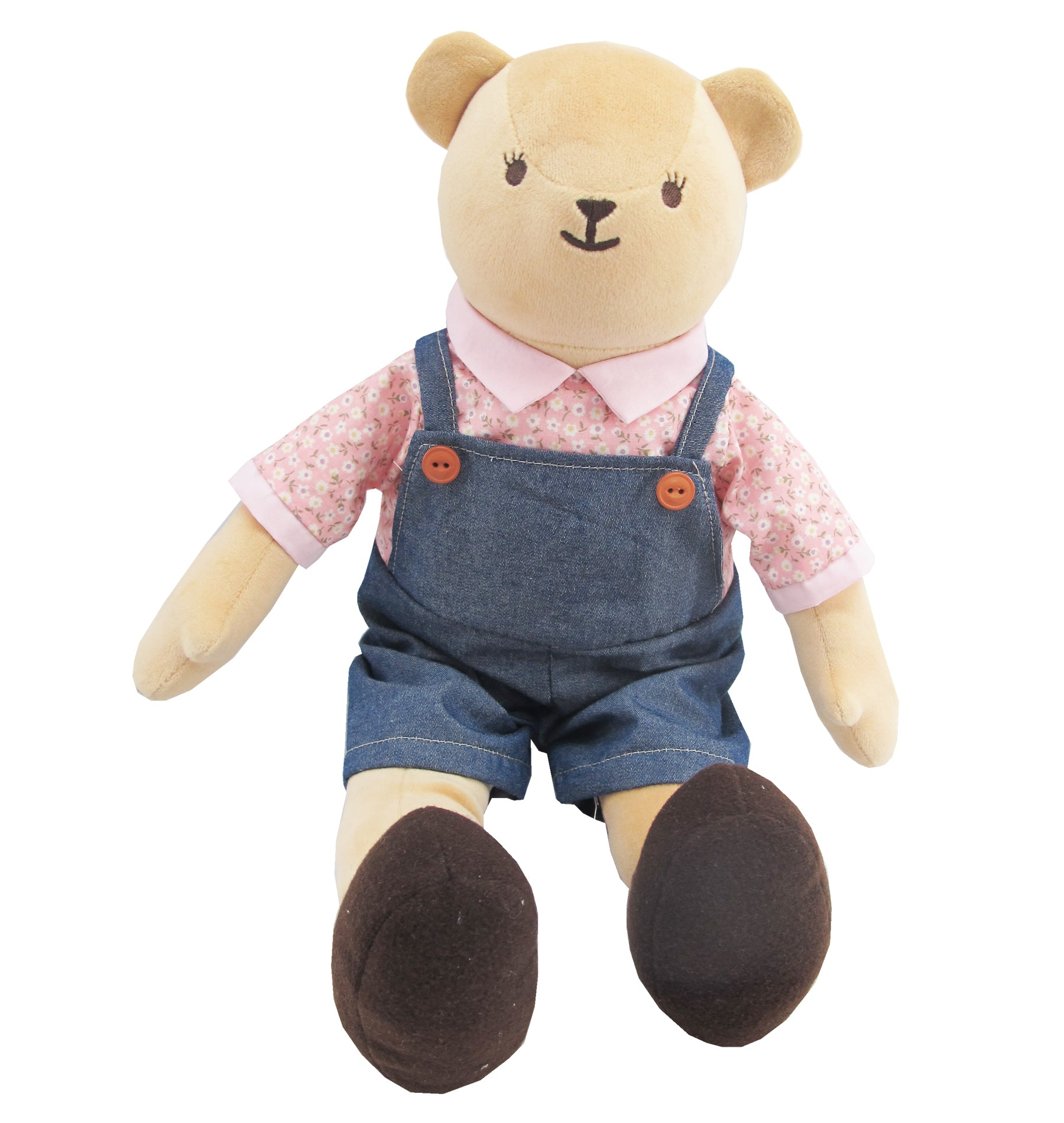 BEAR WITH OUTFITS BOY 16 INCHI M COLLECTION