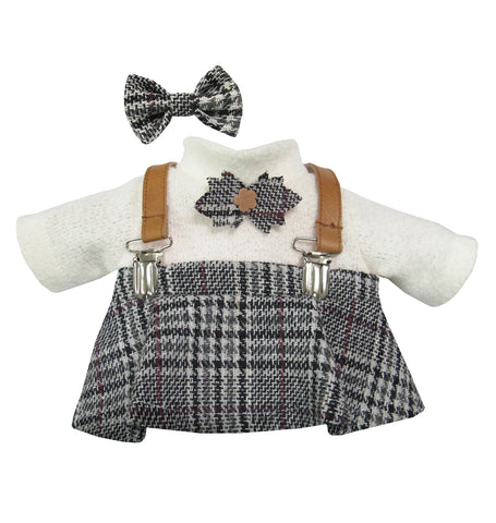 WINTER GIRL WITH SUSPENDER  10 INCHI