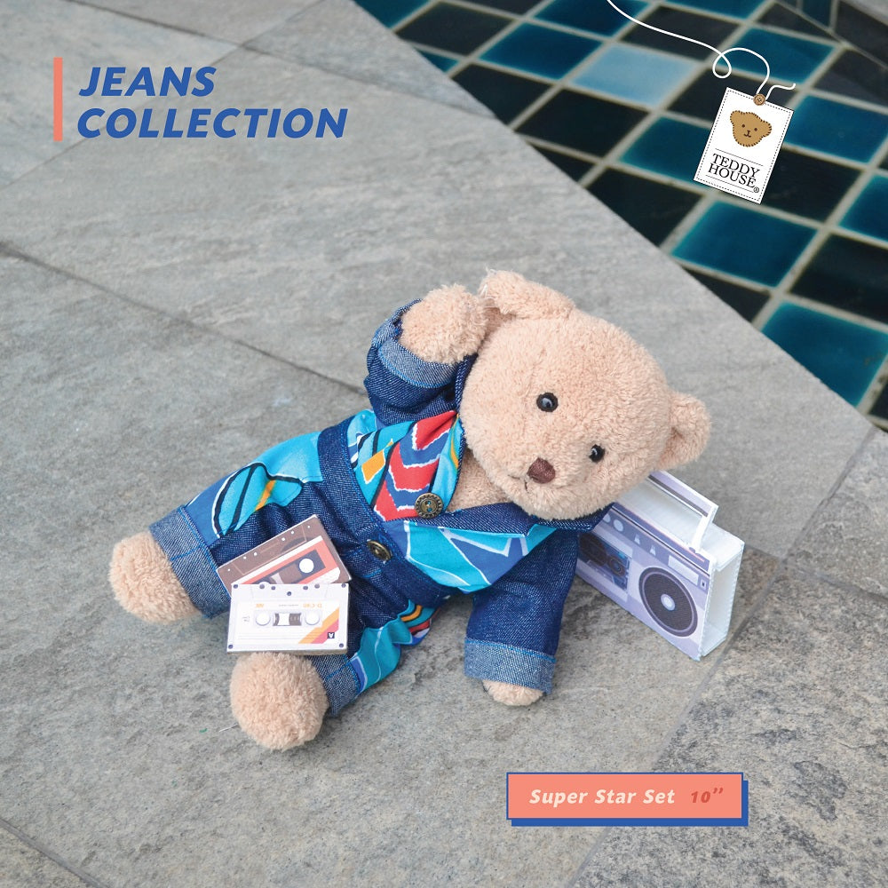 "SPECIAL SET PP SUPER STAR SET 10"" JEANS LOVER"