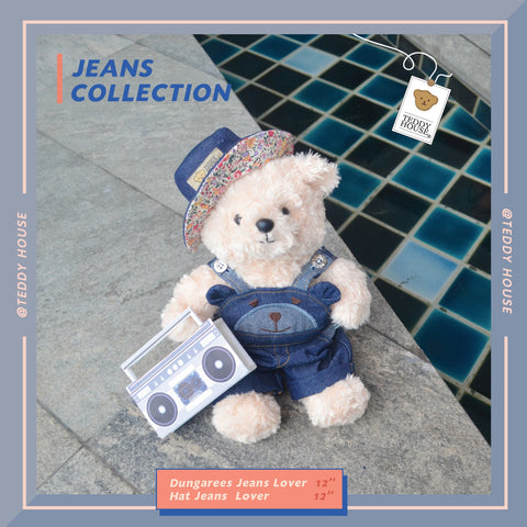 SPECIAL SET MARTIES WITH DUNGAREES JEANS LOVER 10 INCHI