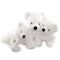 K NUT BEAR 17 INCHI WHITE