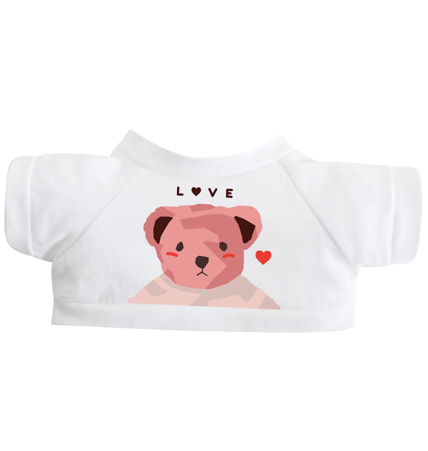 T-SHIRT LOVE 10 INCHI