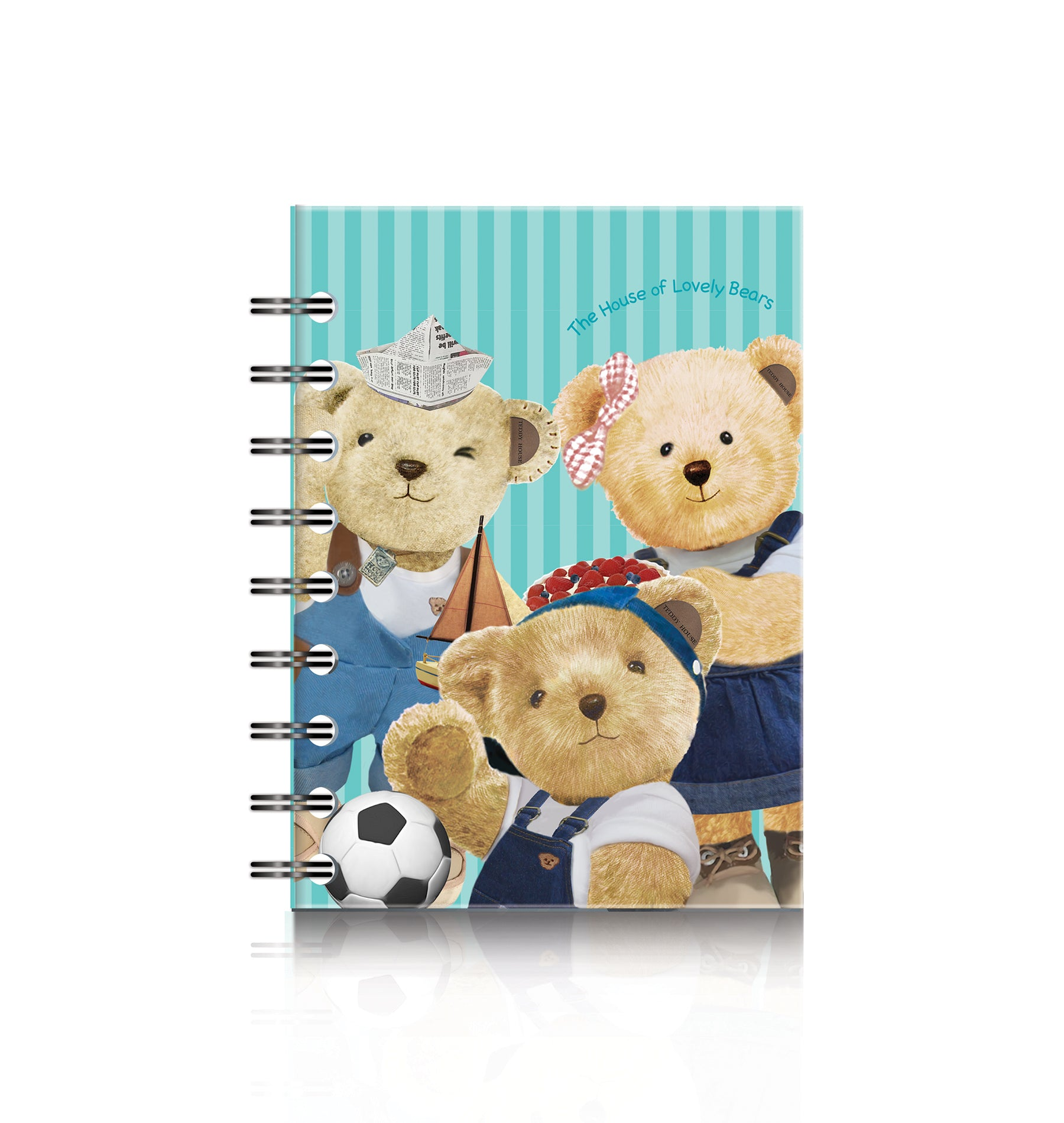 Spiral Notebook A6; Family