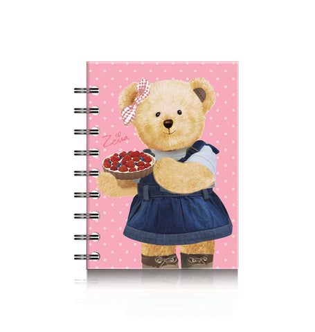Spiral Notebook A6; Zeira