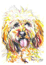 Load image into Gallery viewer, Watercolour Pet Portrait