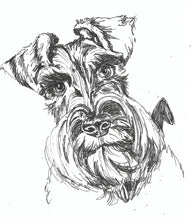 Load image into Gallery viewer, A5 Pet portrait drawing