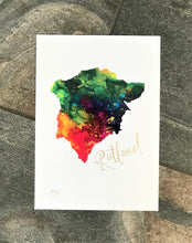 Load image into Gallery viewer, Hand finished Rutland Print