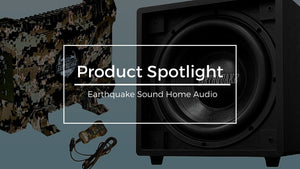 Earthquake Sound Home Audio Professional Gear Overview