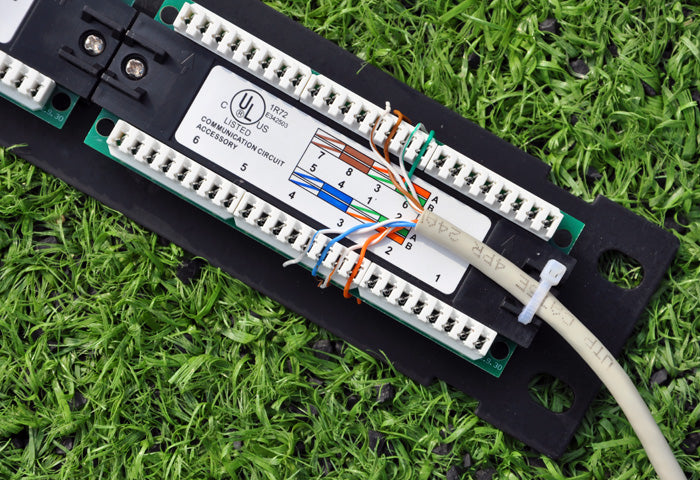 How To Wire A Patch Panel Firefold