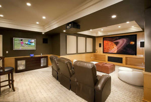 Turning Your Basement into a Home Theater