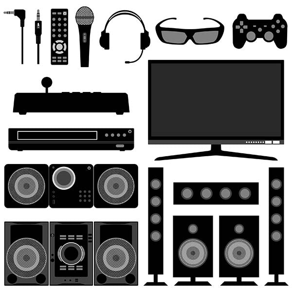 Audio Visual System Electronic Electrical Appliances for Living Room