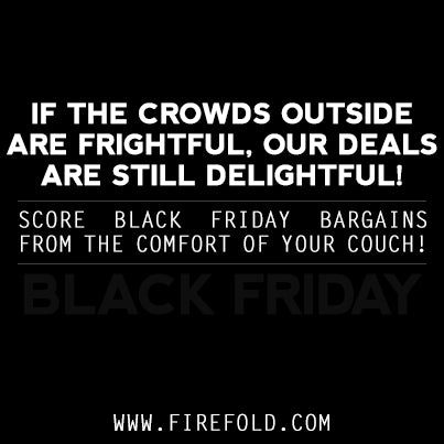 FireFold Black Friday 2013